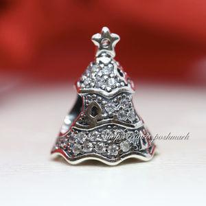 Pandora Twinkling Christmas Tree Charm 791765CZ